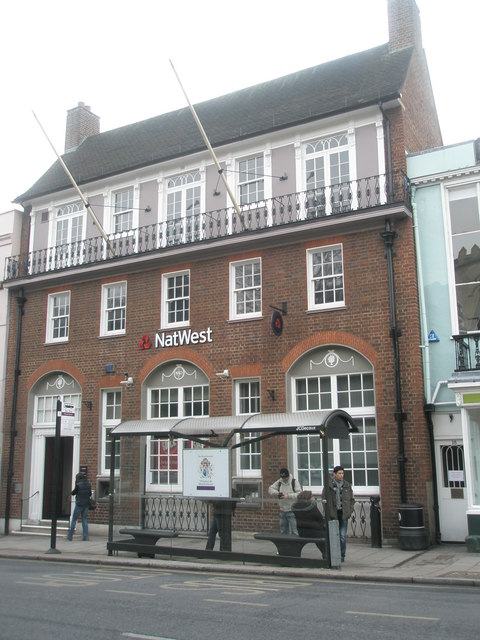 The Nat West in Windsor High Street