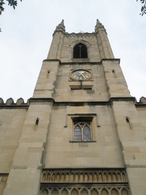 The tower of Windsor Parish Church