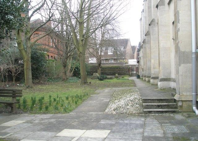 Winter in Windsor Parish Churchyard