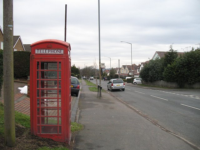 Telephone box, Upper Marlbrook