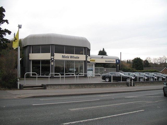 Car showroom, Catshill
