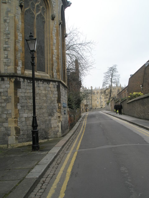 Looking northwards up St Alban's Street
