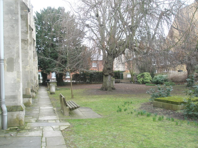 Seat in Windsor Parish Churchyard