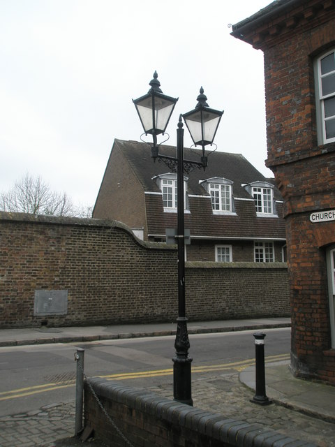 Looking from Church Lane into St Alban's Street