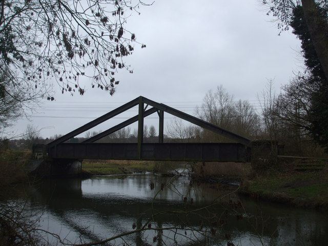 Midland and Great Northern A frame bridge