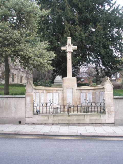 War memorial in Windsor High Street