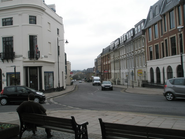 Looking from Park Street into Sheet Street