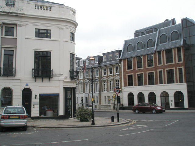Junction of Park Street and Sheet Street