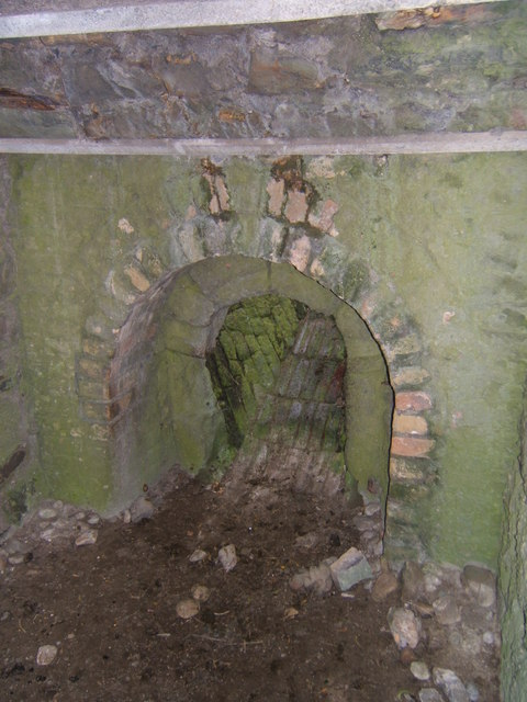 Fireplace within the Limekilns