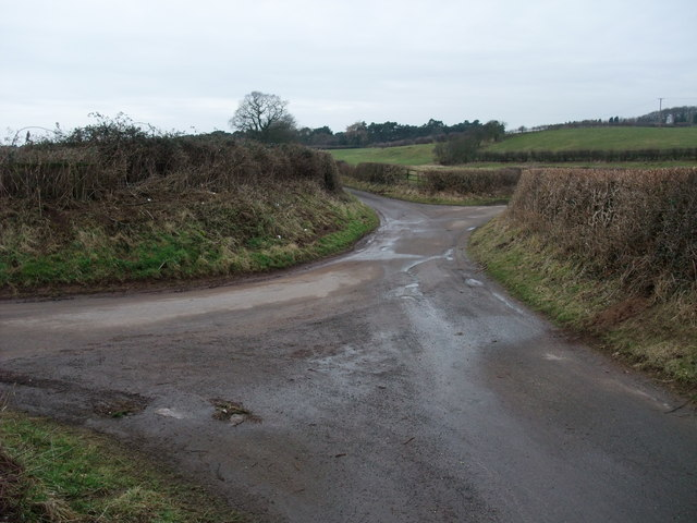 Country lanes junction