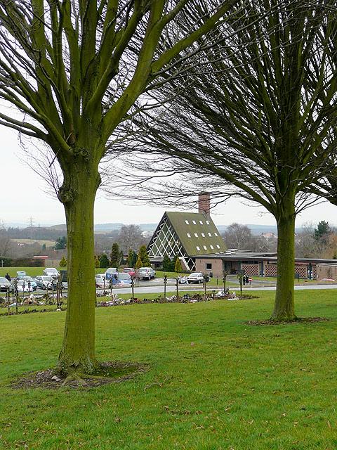 Gornal Wood Crematorium, near Dudley