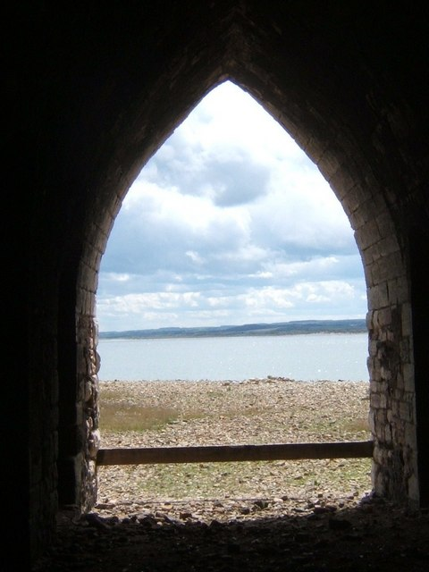 Looking South from inside the Limekilns