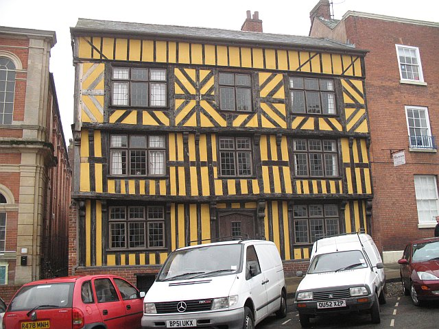 Timber framed building, Broad Street