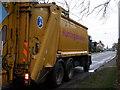 TL1283 : Huntingdonshire bin lorry by Michael Trolove