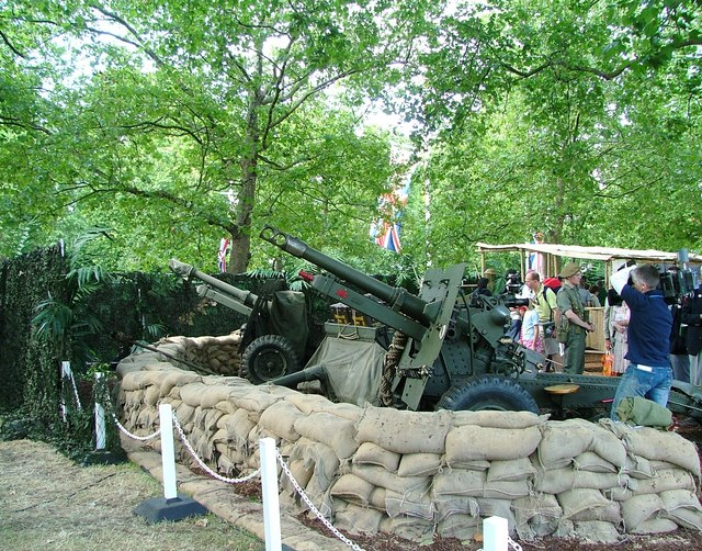 World War II guns