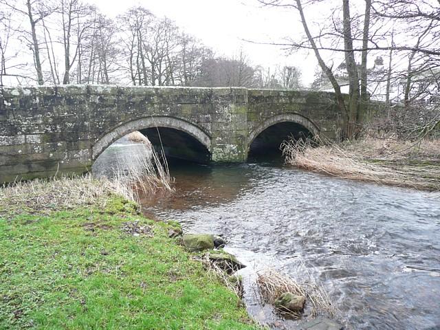 The bridge at Little Blencow, Greystoke Civil Parish