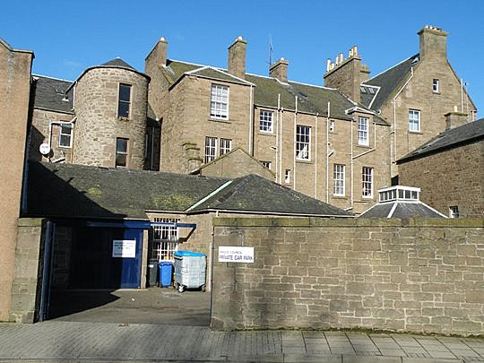 Rear of Buildings in the High Street