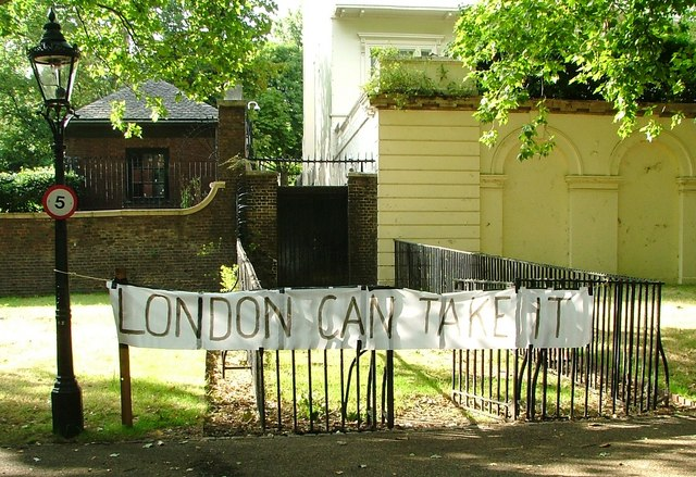 Banner 'London can take it'