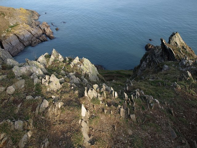 Rocks above Outer Froward Point