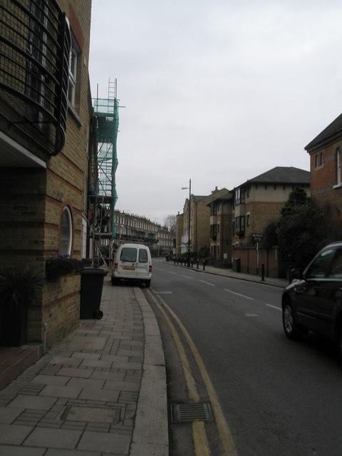 Northern end of Frances Road