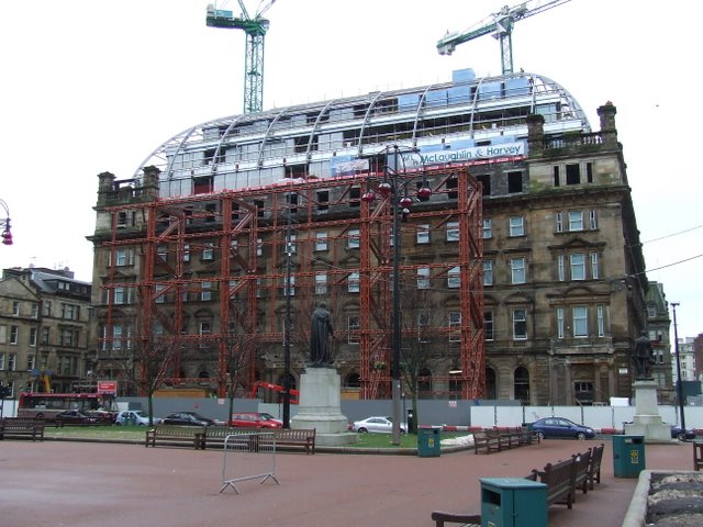 Former GPO building on George Square