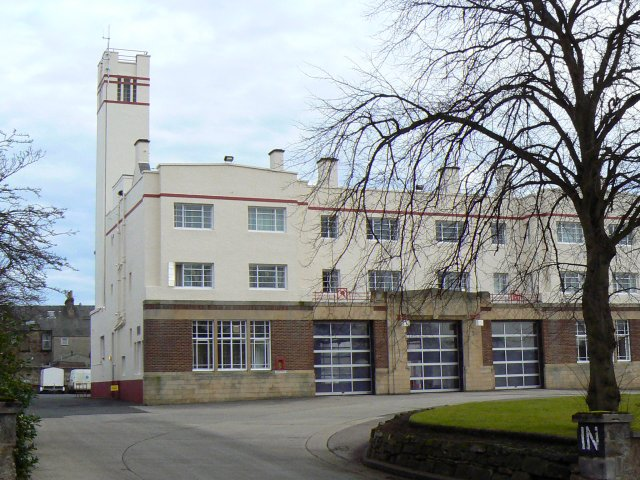 Art deco Fire station