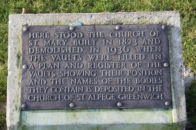 Site of St.Mary's church