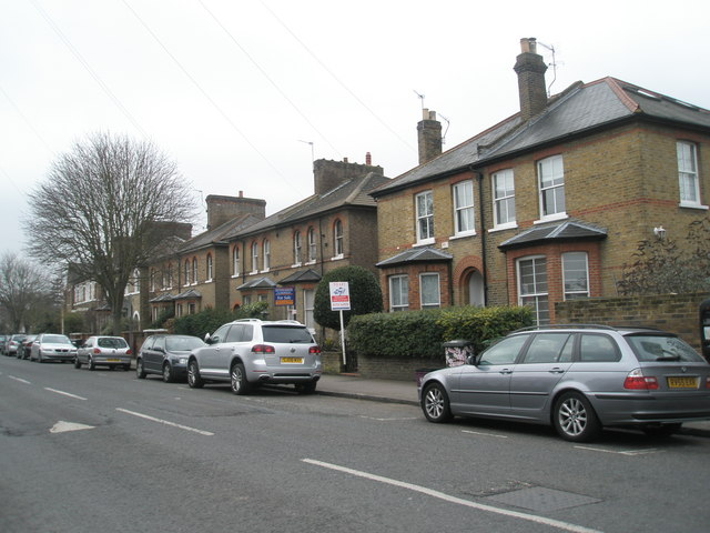Semi-detached houses in Frances Road