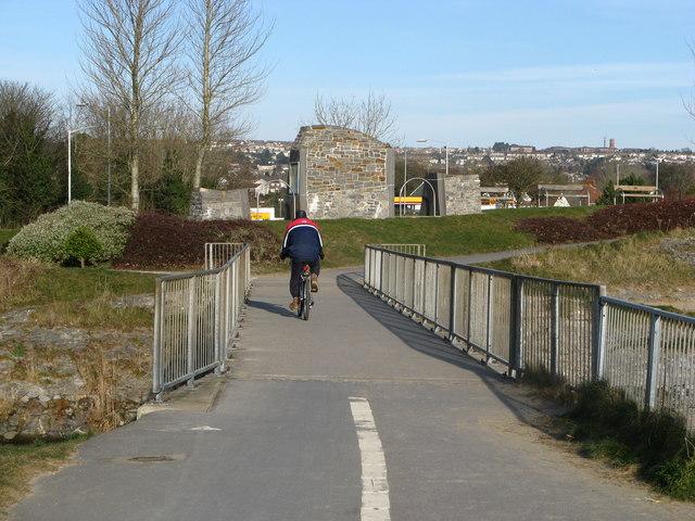 Blackpill Cycle & Foot Bridge