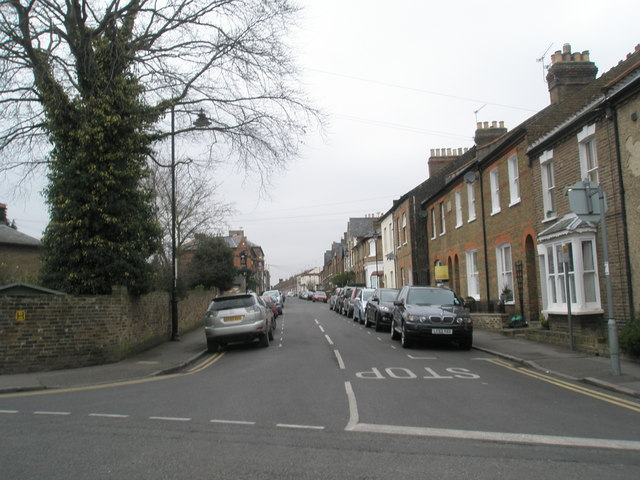 Junction of Frances Road and the western part of Grove Road