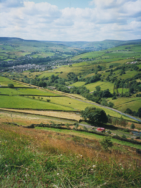 Fields below Bolster Moor