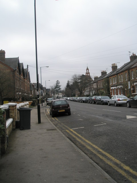 Mid section of Frances Road