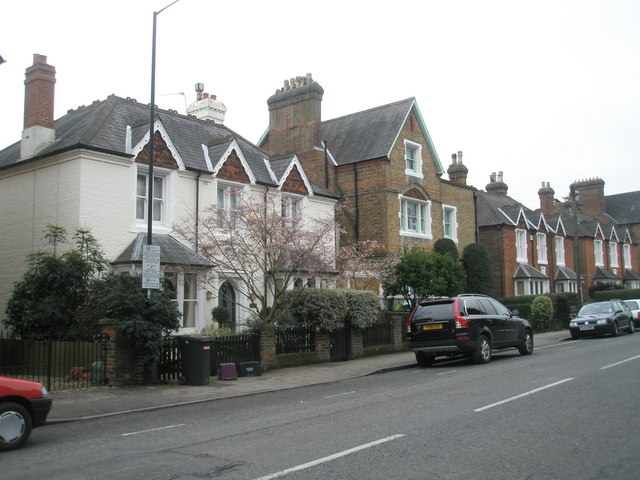 Houses at the bottom end of Frances Road