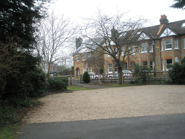 Looking from All Saints Churchyard into Alexandra Road
