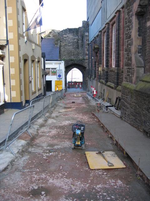 Resurfacing Lower Gate Street