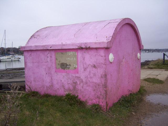 Pink shelter