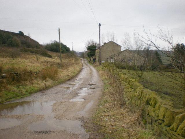 Track to White Rock Farm