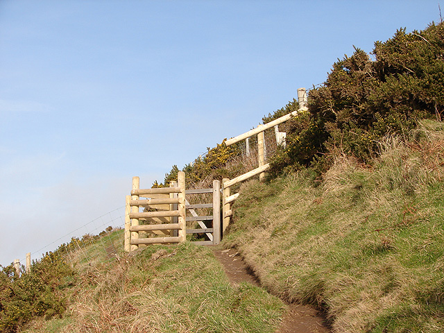 Gate on the Ceredigion Coastal Path
