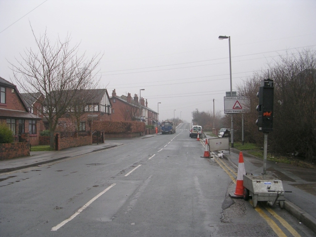 Ledger Lane - viewed from Potovens Lane