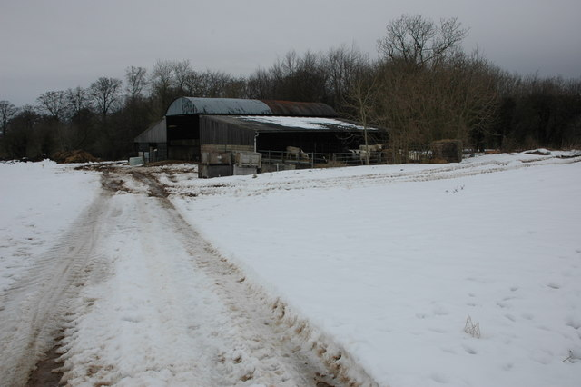 Farm buildings near Temple Guiting