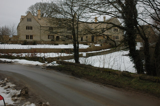 Cotswold stone house, Barton