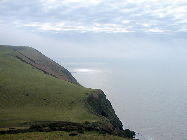 A view from the Ceredigion Coastal Path