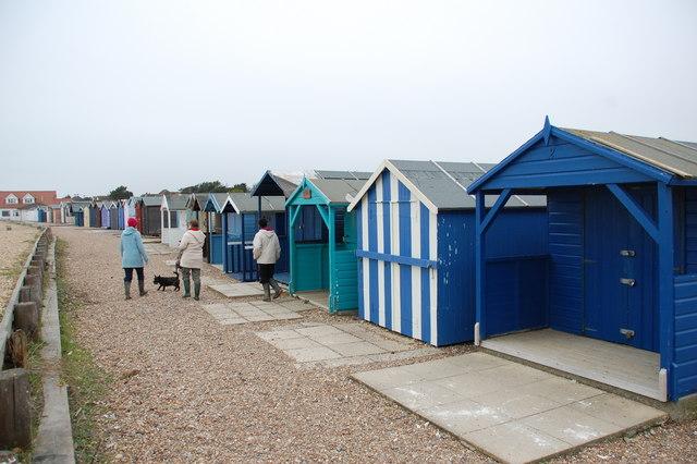 Beach Huts Ferring.