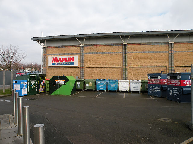 Recycling centre at the Beehive Site
