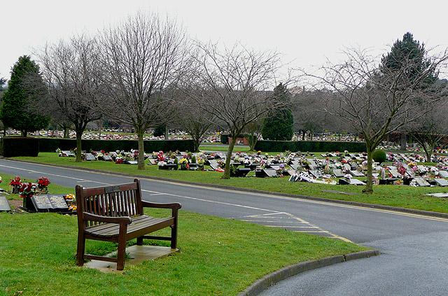 Cemetery at Gornal  Wood Crematorium, Dudley