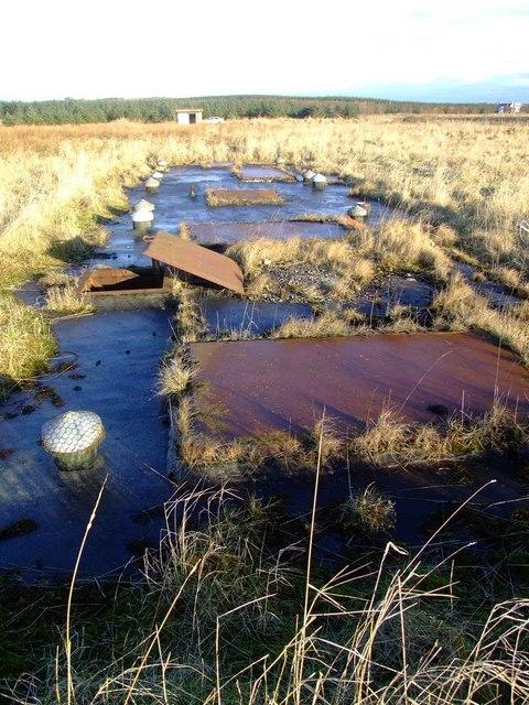 RAF Buchan R7 Mk III ROTOR Radar Bunker