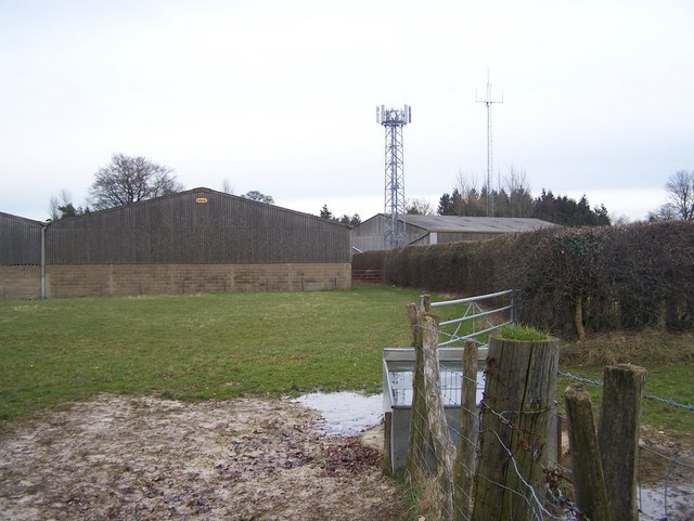 Mobile Phone Mast in Lower Deans Farm