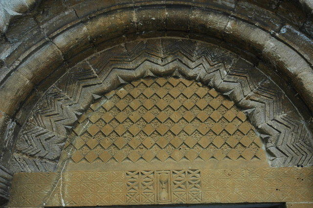 Tympanum, Guiting Power Church