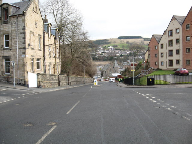 Looking down Kirkbrae to Hall Street