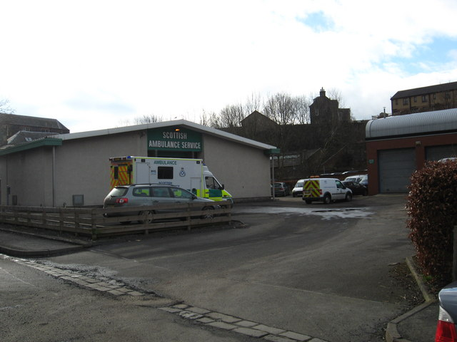 Scottish Ambulance Service station